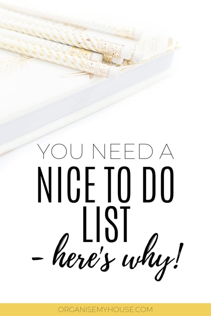 Why You Should Have A Nice TO DO List In Your Life