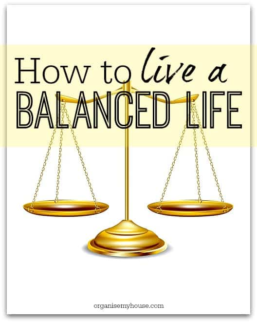 How to live a balanced life - a great way to ensure that you are doing things that benefit all parts of your life everyday - use this acronym to make it easy