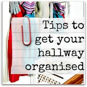 Tips to get your hallway organised