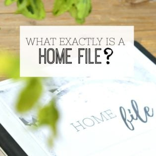 What is a home file? Home management binder - what exactly is it?