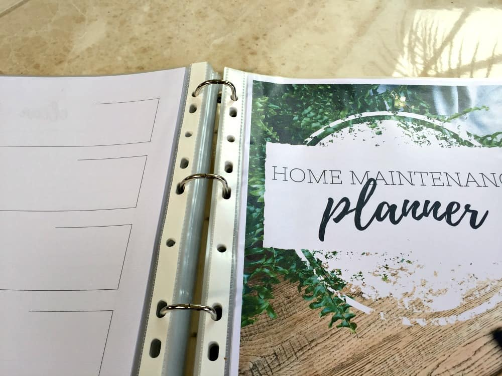 Adding all pages to your home management binder