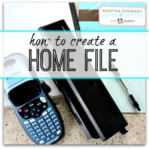 Step by step guide to how to create your own home file - a manual for your home