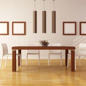 dining room organising, organized dining room