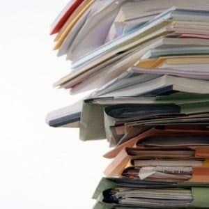 organising paperwork, paperwork organised, organize paperwork