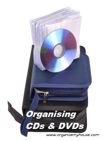 Organising CDs and DVDs