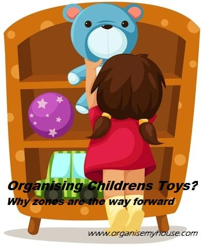 Getting childrens toys organised