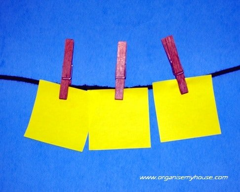 great ways to use post it notes