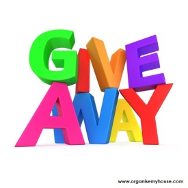 Giveaway from organise my house