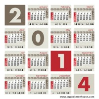 best diary choices for 2014 from organisemyhouse.com