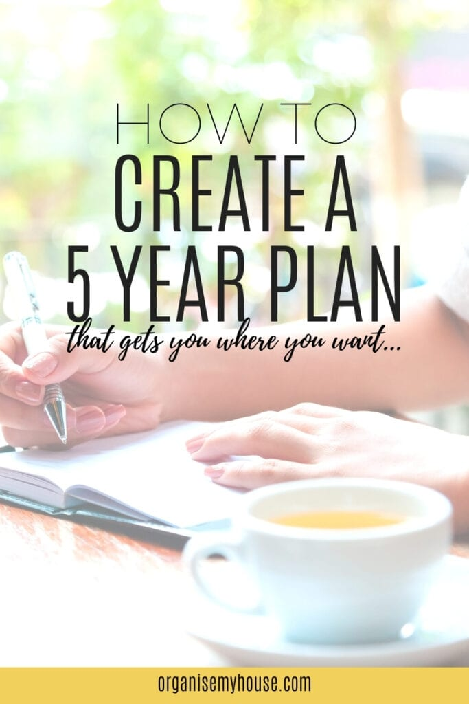 How To Create a 5 Year Plan