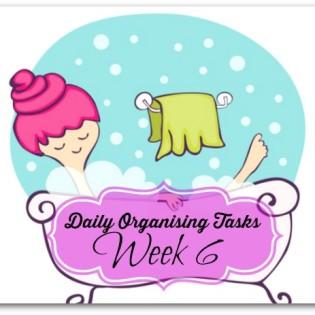 Daily Organising Tasks Week 6