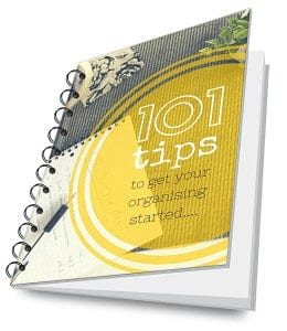 Free eBook - 101 organising tips
