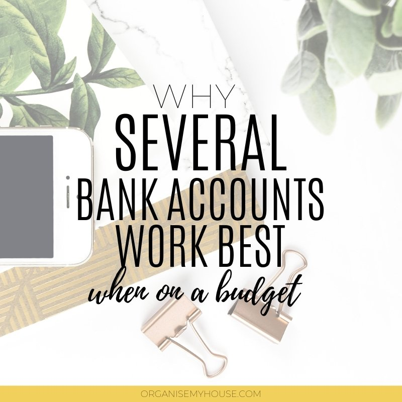 Living On A Budget - Why Several Bank Accounts Can Help