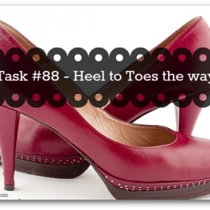 Store shoes heel to toe for more space - tip from organisemyhouse.com
