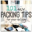 101 easy packing tips