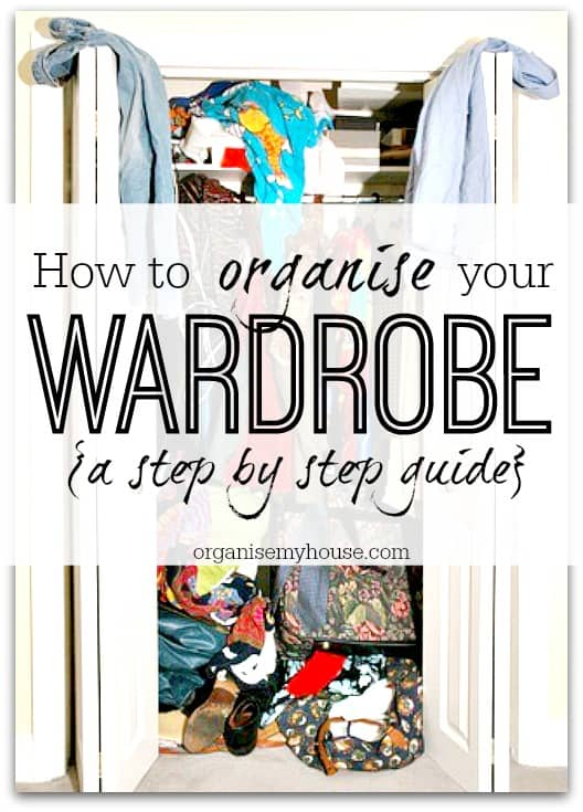 tips for sorting your wardrobe 3