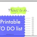 printable to do list - use this daily to become more productive