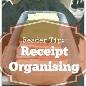 431. Receipt organising