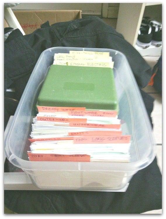 Receipt organising  (1)