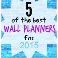 best wall planners 2015