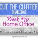 cut the clutter challenge week 10