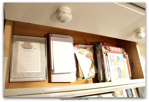 493f. Gift station card drawer
