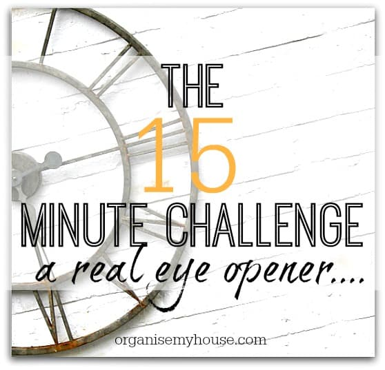 The 15 Minute Challenge - A Real Eye Opener