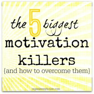 Motivation killers - what they are and how to overcome them