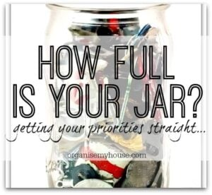 How full is your jar?