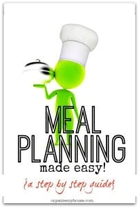 Meal planning made easy - a step by step guide taking you through every stage of meal planning, with printables!
