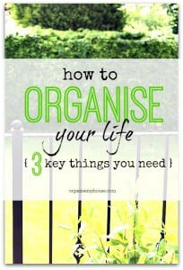 The 3 things that you need for a more organised life - do you use them all?
