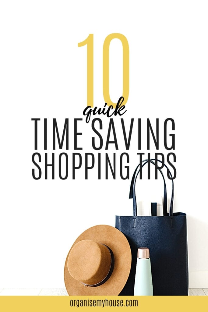 10 Quick Time Saving Tips For Shopping
