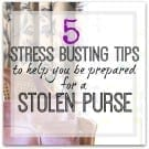 Be preprared for an emergency - planning ahead tips for a lost purse