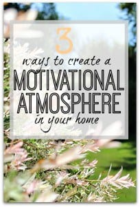 The 3 areas of your life/home that you need to look at in order to get motivation when you're at home. Motivation ideas to get you started.