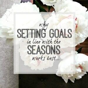 Setting goals - goal setting