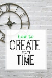 Create more time for what you really want to do by looking at how you spend your time right now. Create more time from today with top 10 tips
