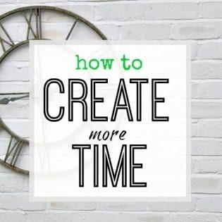 How to find more time in your day to get things done