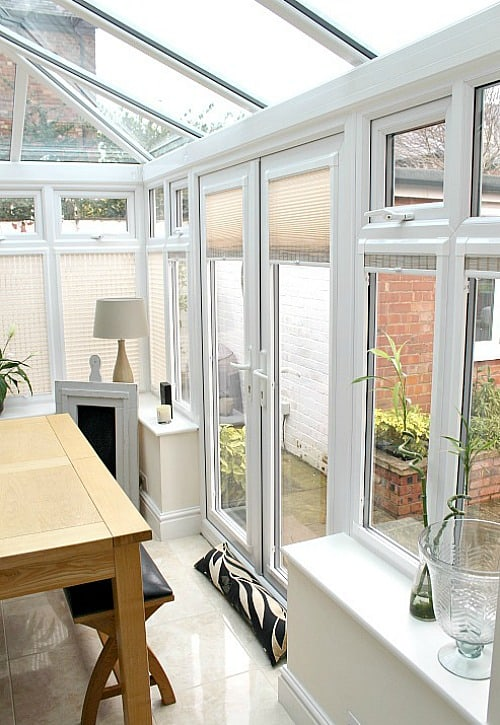 Perfect fit blinds in use