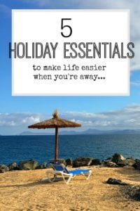 5 amazing items that you should take on holiday as they make it so much easier. Holiday essentials