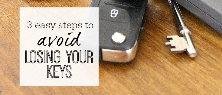 Ways to avoid losing your keys - at home and outside the house