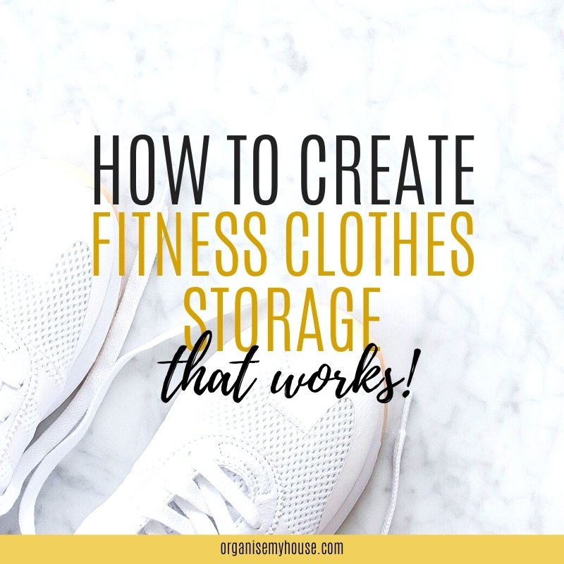 How To Create a Fitness Clothes Drawer
