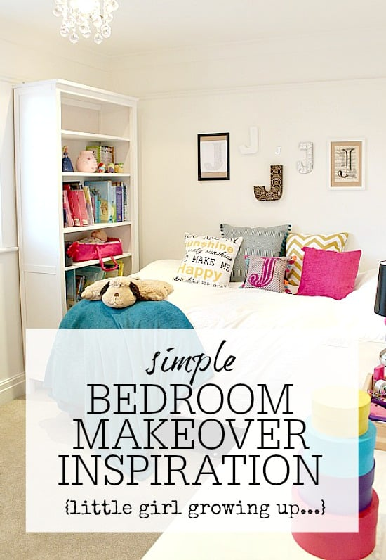 Simple bedroom makeover tips inspiration to create a for Bedroom makeover inspiration
