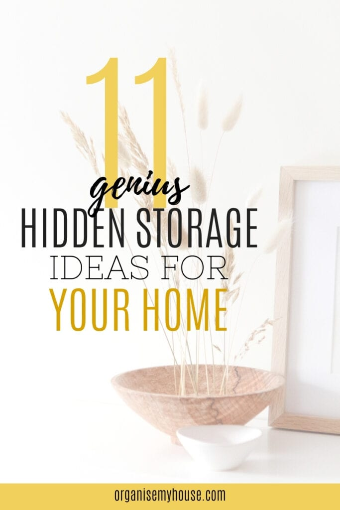 11 Ingenius Hidden Storage Ideas For Around Your Home That You'll Love