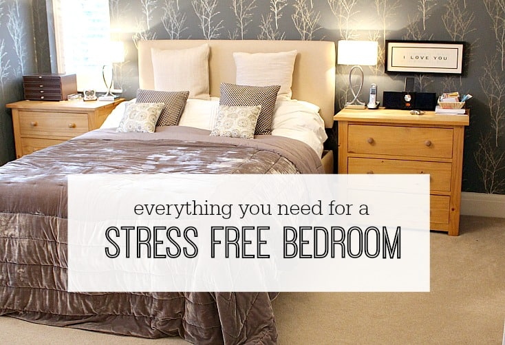 Everything you need for a stress free bedroom  How to create a relaxing  bedroom. Everything you need for a stress free bedroom   interior design tips