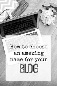 Blogging tips - how to choose an amazing name for your blog...