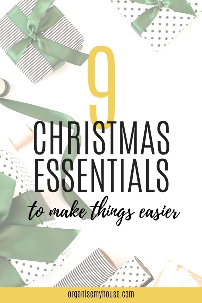 9 essentials to make Christmas stress free this year