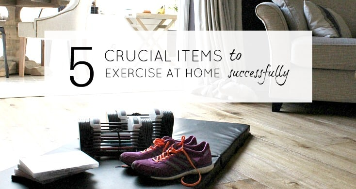 Crucial items to make exercise at home easy