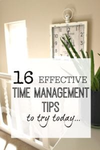 Time management tips that work. Try these 16 tips to get your time management under control once and for all - become more organised and have more time for what you really want in life.