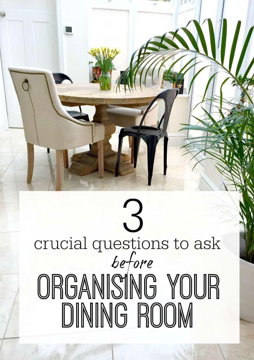 3 crucial things to ask before organising your dining room for Dining room design questions