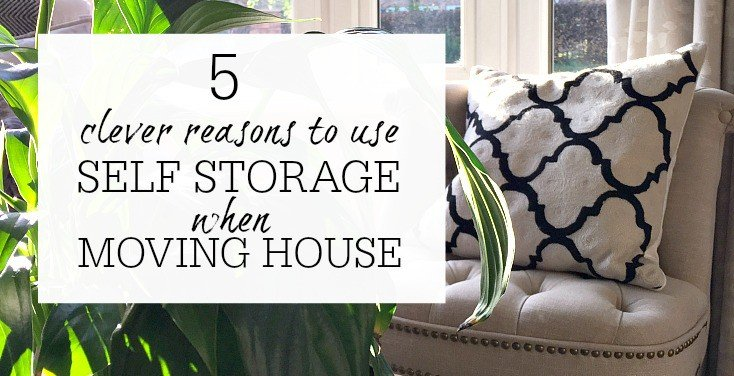 Clever reasons to use self storage when moving house